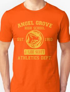 Angel Grove H.S. (Red Ranger Edition) Unisex T-Shirt