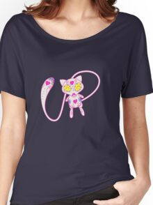 Mew Popmuerto | Pokemon & Day of The Dead Mashup Women's Relaxed Fit T-Shirt