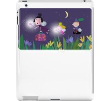 Ben and Holly - Flying through the night iPad Case/Skin