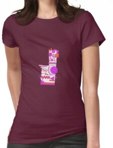 Missingno. Popmuerto | Pokemon & Day of The Dead Mashup Womens Fitted T-Shirt