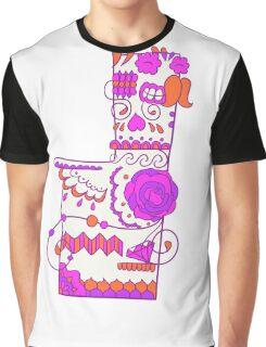 Missingno. Popmuerto | Pokemon & Day of The Dead Mashup Graphic T-Shirt