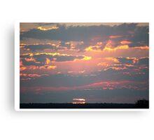 Okonjima Sunset Canvas Print