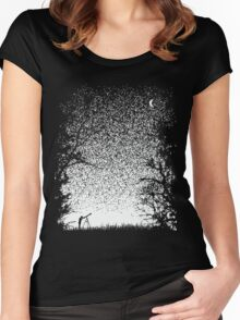 Pixel Space Women's Fitted Scoop T-Shirt