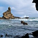 Rough water, Inverloch coast, Eagle Rock, Victoria. by johnrf