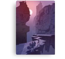 Journey to the West Canvas Print