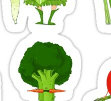 Veggie Army Sticker