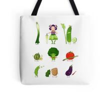 Veggie Army Tote Bag