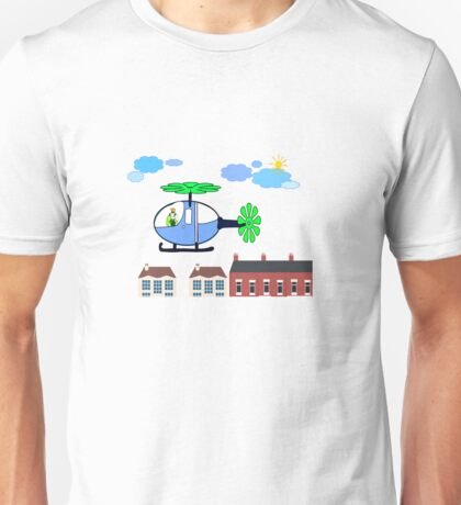 The Helicopter Unisex T-Shirt