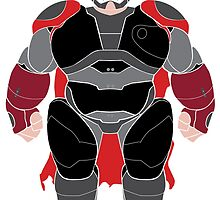 Baymax (Thor Armored) by Ztw1217
