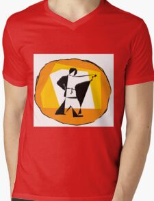 karate  Mens V-Neck T-Shirt