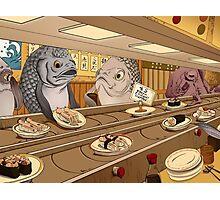 Sushi Bar Photographic Print