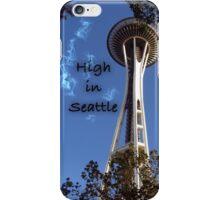 High in Seattle iPhone Case/Skin