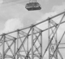 Roosevelt Island Tram in New York City Sticker
