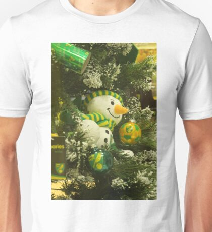 Dreams; A Yellow & Green Christmas Unisex T-Shirt