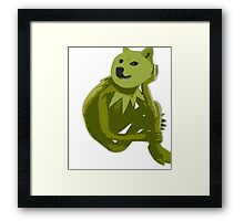 Kermit the Froge Framed Print