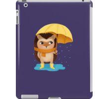Hami the Hedgehog - the Rainy Day iPad Case/Skin