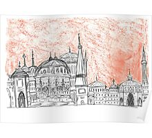 City Istanbul Poster