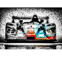 Art Audi R8 2000 Gulf Photographic Print