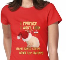 Cat Christmas Gifts for People a Cute Kitten Gift idea Womens Fitted T-Shirt