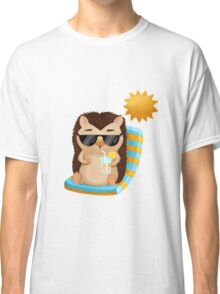 Hami the Hedgehog - Chilling in the Sun Classic T-Shirt