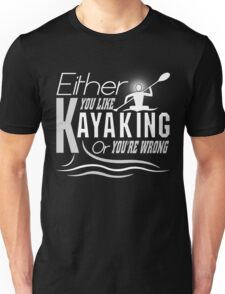 Like Kayaking T-shirt Unisex T-Shirt