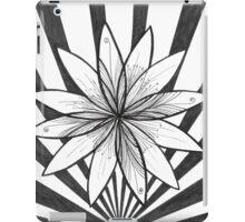 Flower burst #1 iPad Case/Skin