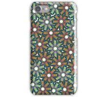 Floral wreath iPhone Case/Skin