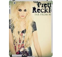 Far From Never/the pretty reckless iPad Case/Skin