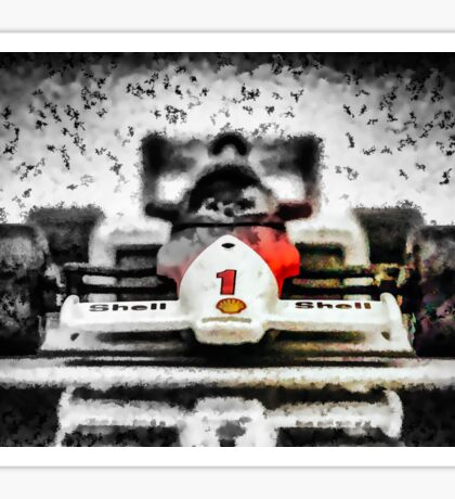 Art Mclaren F1 TAG Turbo MP4/2C Sticker