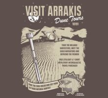 Visit Arrakis One Piece - Short Sleeve