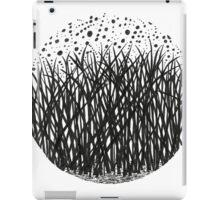 Grass circle #3 iPad Case/Skin