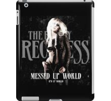 The Pretty Reckless Messed Up World iPad Case/Skin