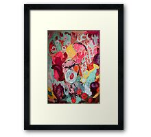 it's all about love Framed Print