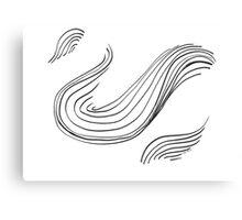 Swan ... Canvas Print