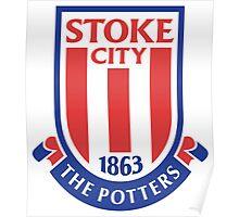 stoke city fc best logo Poster