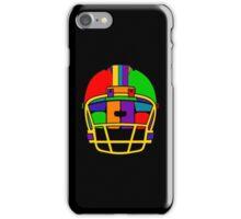 Football Helmet (Rainbow) iPhone Case/Skin
