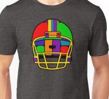 Football Helmet (Rainbow) Unisex T-Shirt