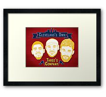 CLE's 3 Company Framed Print