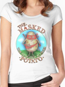 The Masked Potato Women's Fitted Scoop T-Shirt