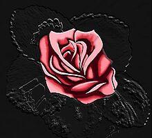 Pink rose by BruceFuller