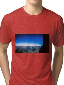 Paraglider on The Eiger Tri-blend T-Shirt
