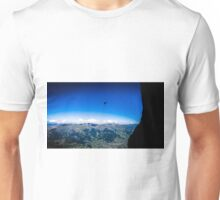 Paraglider on The Eiger Unisex T-Shirt