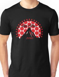 Alpe d'Huez 2016 (Red Polka Dot) Unisex T-Shirt
