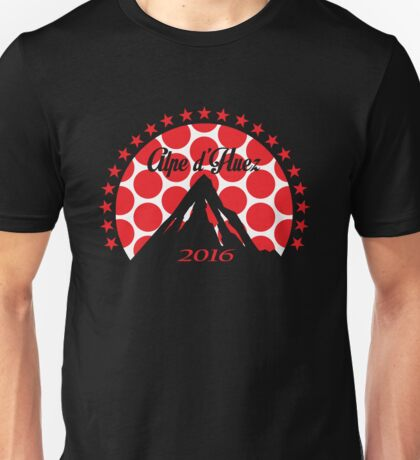 Alpe d'Huez 2016 (Red Polka Dot) Unisex T-Shirt