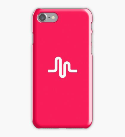 Musical.ly symbol music.ly musically iPhone Case/Skin