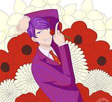 Flower Man by speedbaldwin