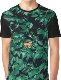 Orange horse in the bush Graphic T-Shirt