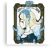 Queen and Savior Canvas Print