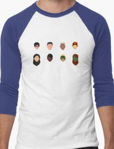 Minimal YJ Men's Baseball ¾ T-Shirt