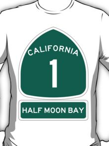 PCH - CA Highway 1 - Half Moon Bay T-Shirt